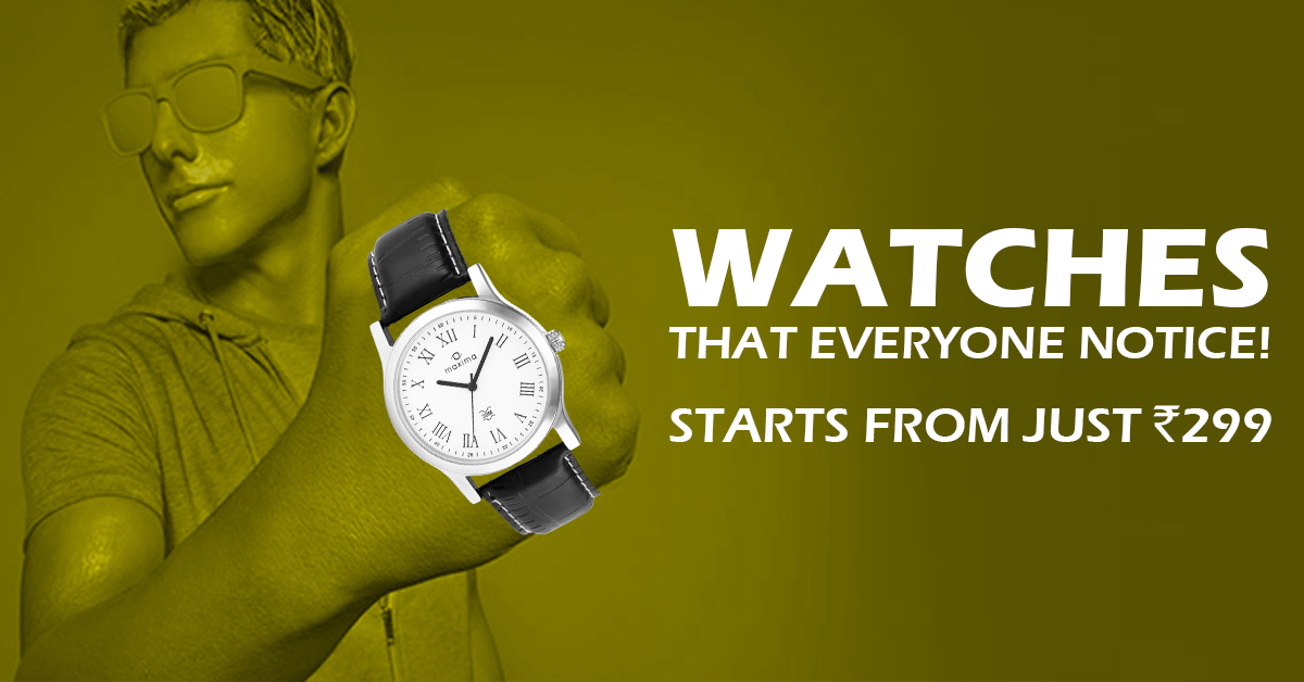 Buy Watches online at unbeatableprices