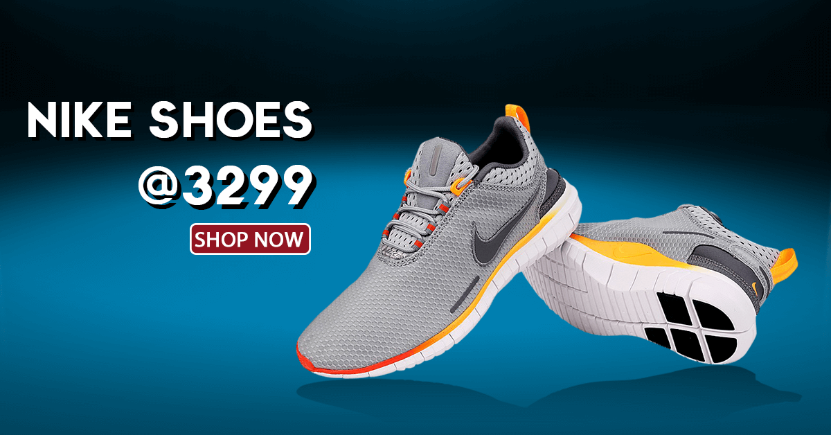 Branded Nike Shoes at just Rs3299